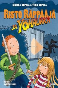 Cover for Risto Räppääjä ja yöhaukka