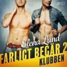 Cover for Farligt begär II: Klubben - erotisk novell