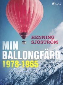 Cover for Min ballongfärd 1978-1965