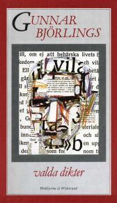 Cover for Valda dikter