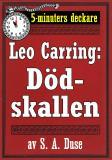 Cover for 5-minuters deckare. Leo Carring: Juvelhandlarens äventyr. Detektivhistoria. Återutgivning av text från 1923