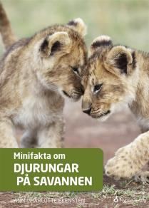 Cover for Minifakta om djurungar på savannen