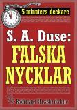 Cover for 5-minuters deckare. S. A. Duse: Falska nycklar. Berättelse. Återutgivning av text från 1924