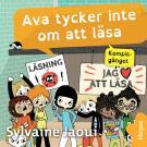 Cover for Kompis-gänget: Ava tycker inte om att läsa