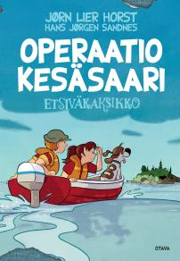 Cover for Operaatio Kesäsaari