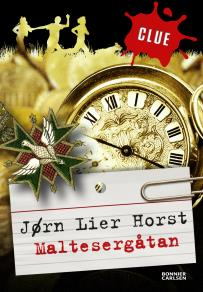 Cover for Maltesergåtan. CLUE 2