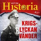 Cover for Krigslyckan vänder