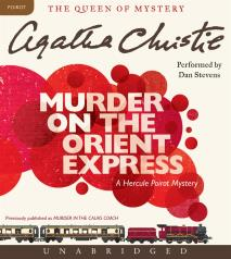 Cover for Murder on the Orient Express