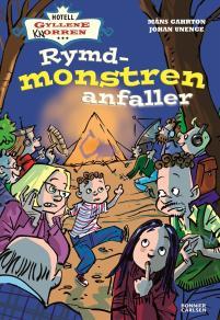 Cover for Hotell Gyllene knorren. Rymdmonstren anfaller