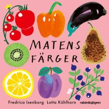 Cover for Matens färger