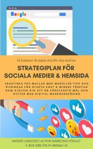 Cover for Strategiplan för sociala medier och hemsida