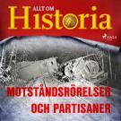 Cover for Motståndsrörelser och partisaner