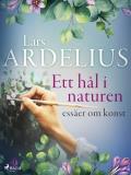 Cover for Ett hål i naturen, essäer om konst