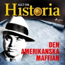 Cover for Den amerikanska maffian