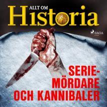 Cover for Seriemördare och kannibaler