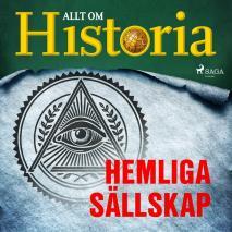 Cover for Hemliga sällskap