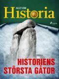Cover for Historiens största gåtor