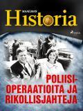 Cover for Poliisioperaatioita ja rikollisjahteja