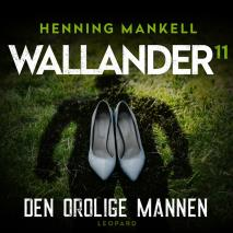 Cover for Den orolige mannen