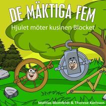 Cover for Hjulet möter kusinen Blocket