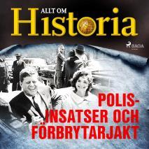 Cover for Polisinsatser och förbrytarjakt