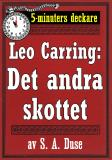 Cover for 5-minuters deckare. Leo Carring: Hans alibi. Återutgivning av text från 1924