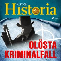 Cover for Olösta kriminalfall