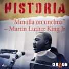 "Cover for ""Minulla on unelma"" – Martin Luther King Jr"