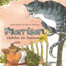 Cover for Morrison räddar en kattunge