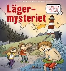 Cover for Hemliga trean: Lägermysteriet