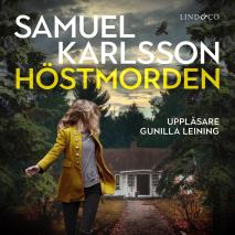 Cover for Höstmorden