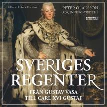 Cover for Sveriges regenter - från Gustav Vasa till Carl XVI Gustaf