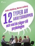 Cover for 12 typer av arbetsgrupper - och vad de säger till psykologen