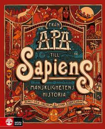 Cover for Från apa till sapiens : mänsklighetens historia