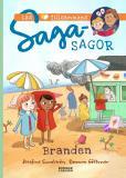 Cover for Sagasagor. Läs tillsammans. Branden