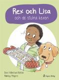 Cover for Rex och Lisa och de stulna kexen
