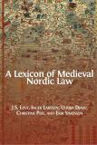 Cover for A Lexicon of Medieval Nordic Law