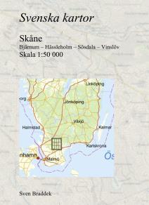 Cover for Svenska kartor. Bjärnum – Hässleholm – Sösdala – Vinslöv (Skåne)