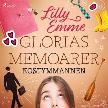 Cover for Glorias memoarer: Kostymmannen