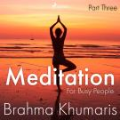 Cover for Meditation For Busy People – Part Three