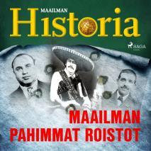 Cover for Maailman pahimmat roistot