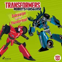 Cover for Transformers - Robots in Disguise - Sideswipe vastaan Thunderhoof