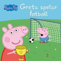 Cover for Greta spelar fotboll