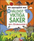 Cover for Min uppslagsbok med väldigt viktiga saker om dinosaurier