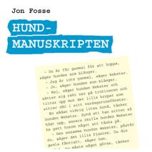Cover for Hundmanuskripten