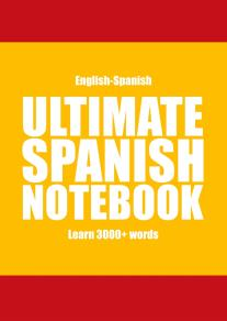 Cover for Ultimate Spanish Notebook