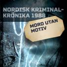Cover for Mord utan motiv
