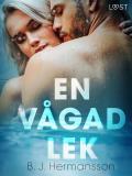 Cover for En vågad lek - erotisk novell