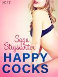 Cover for Happy Cocks - erotisk novell