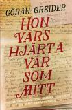 Cover for Hon vars hjärta var som mitt : Dan och Märta – en kärlekshistoria